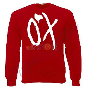 Sweater rouge XO pour femme