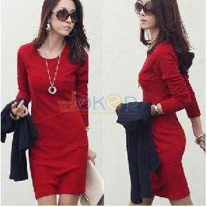 Robe rouge  Milano pour femme