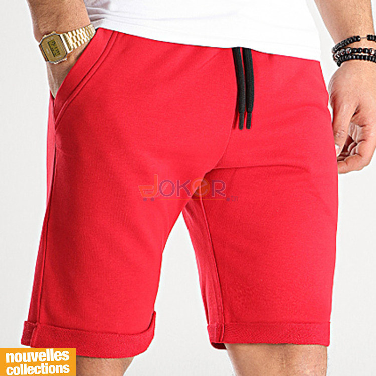 Jogging Rouge Achat Homme Texas Short TPZukOXi