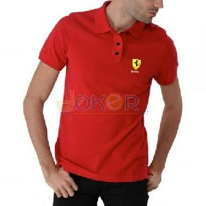 Polo rouge pour homme