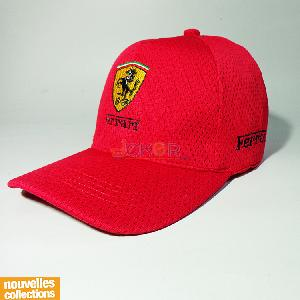 Casquette - Rouge - F1 - Homme