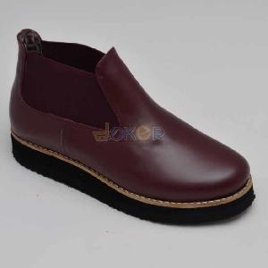 Boots rouge bordeau REF 0111