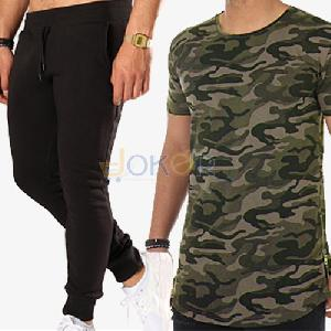 Pack California Jogging Noir + T Shirt Camouflage