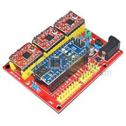 Arduino Nano+CNC Shield V4 + 3XA4988 Controller for RAMPS1.4 Reprap 3D Printer
