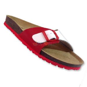 Tongs Homme - rouge