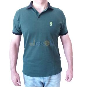 POLO EISSE VERT Chic Sport pour Homme
