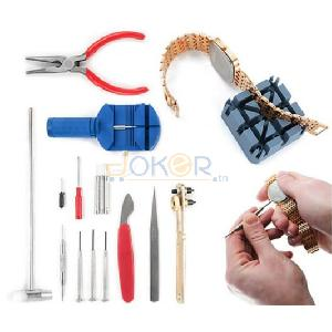 Pack Kit Outil Reparation Montre 16 Pieces