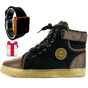 Pack all star Boots + montre Led Cadeau