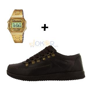 Pack Milano chaussures Timberland + Montre Casio