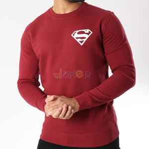Sweater rouge Superman by Chipie Bleue