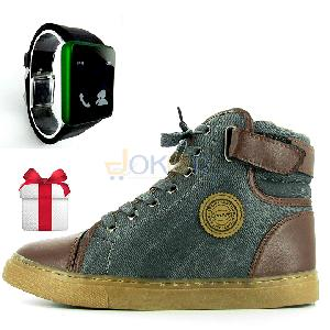 Pack Originals star Boots + montre Led Cadeau