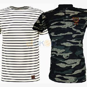 Pack Volcano T shirt et Polo Us Army