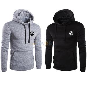 Lot de 2 sweaters Punisher avec capuche gris et noir