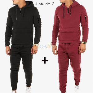 Lot de 2 ensembles Joggings et un cadeau offert