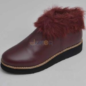 Boots rouge bordeau REF 0093