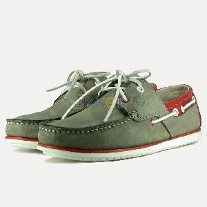 Chaussures Bateau Timberland ZN Gris