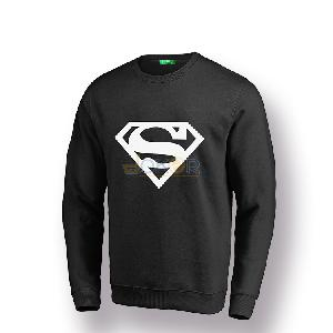 Sweater noir Superman by Chipie Bleue