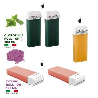 Pack de 5 recharges 100 ml Roll On   cires ? ?piler