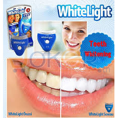 Kit Blanchiment Des Dents Gel + Lampe Uv Whitelight