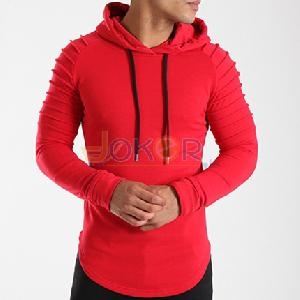 Sweater avec capuche Flags rouge homme