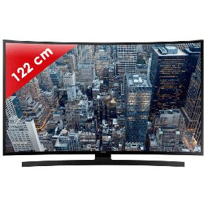 UE48JU6640 - 48 pouces (122cm) - Ultra HD 4K - Incurv?e - SMart TV - 1200 PQI