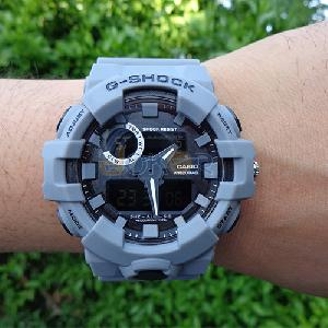 Montre waterproof 20 bar gris
